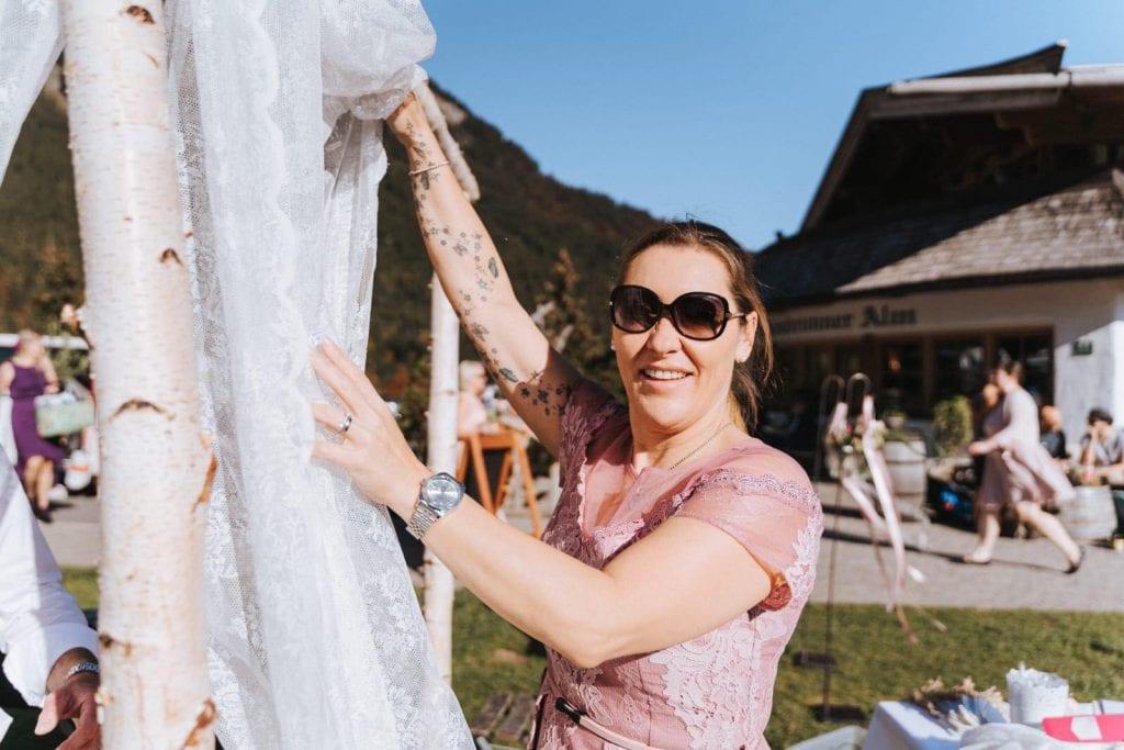 Hochzeitsdekoration Oberbayern Chiemsee Tegernsee Tirol professionelle Dekorateurin